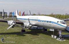 DALEM Constellation Lufthansa (Anhedral) Tags: fbhml dalem lockheed l1049g super constellation lufthansa piston preserved munich airport