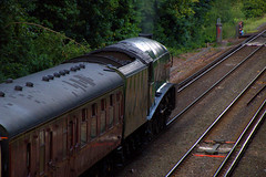 Belmond Private Charter - Virginia Water (Colin Weaver) Tags: steam railway railroad loco locomotive gresley a4 virginiawater unionofsouthafrica