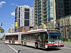 Toronto Transit Commission 9127 (YT | transport photography) Tags: ttc toronto transit commission nova bus lfs artic articulated