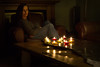 (~ cynthiak ~) Tags: 365 365days 3652017 2017 selfportrait may may2017 ourdailychallenge odc img8035 candlesorcandlelight 139365 explored