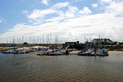 Arun Yacht Club (zawtowers) Tags: littlehampton west sussex south coast england seaside town resort dry sunny blue skies sunshine saturday 20th may 2017 exploring river arun yacht club heading out sea moored boats yachts