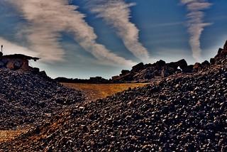 A rocky desert - Eine Steinwüste