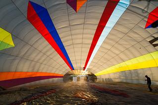 A look Inside - Hot Air Balloon Ride