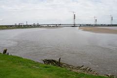River Mersey by Spike Island (Bill Boaden) Tags: cheshire mersey widnes warrington merseygateway