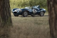 The most valuable British car sold publicly: 1955 Jaguar D-Type (Desert-Motors Automotive Photography) Tags: jaguar xkd xkd501 dtype lemans ecurieecosse cars rmsothebys racecars