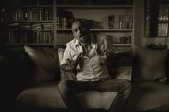 Dici a me (♫♪♭Enricodot ♫♪♭ an apple a day....) Tags: enricodot nene portrait portraits bn bnw blackandwhite actor actors shooting