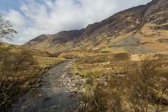 (marina~) Tags: scotland uk unitedkingdom threesisters glencoe glencoevillage spring mountains hike canon