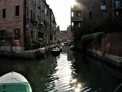 Лучше пускай (3) (Milan Korenev) Tags: sunset water reflection seaside urban city venice venezia light sunlight boats