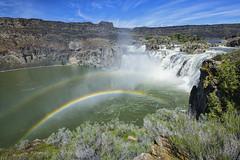 Shoshone Falls (Amy Hudechek Photography) Tags: shoshonefalls waterfall idaho spring rainbow nature power amyhudechek