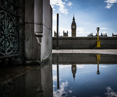 Four O'Clock Westminster by Simon & His Camera (Simon & His Camera) Tags: water westminster parliament london city urban reflection tower bigben building architecture iconic sky skyline outdoor simonandhiscamera thames