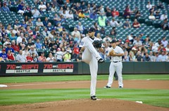 James Paxton windup (hj_west) Tags: baseball philadelphiaphillies seattlemariners safecofield mlb interleague stadium night sports