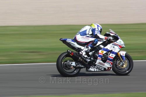 Jake Dixon in World Superbikes at Donington Park, May 2017