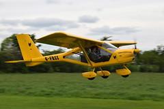 G-FBSS Foxbat Super Sport (eigjb) Tags: limetree airfield co laois nmai microlight aircraft light aviation may 2017 plane spotting irish ireland gfbss foxbat super sport