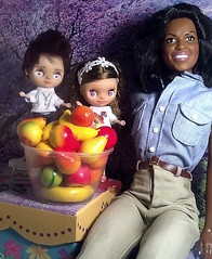 Blythe-a-Day# 15 Healthy: Eli&Bindy with Michelle Obama