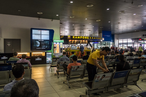 Subang Skypark departure terminal