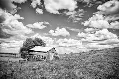 The Derelict Farm (jamesromanl17) Tags: landscape landscapes canon eos 5d iii blackandwhite farm farming field fields sky skies clouds cloud cloudscape cloudy derelict abandoned cheshire countryside england britain