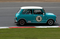 Austin Mini Cooper S ({House} Photography) Tags: masters historic festival pre 66 1966 touring cars racing motorsport motor car automotive brands hatch uk kent fawkham gp circuit panning canon 70d 70200 f4 housephotography timothyhouse classic austin mini cooper s
