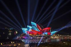 Sydney Opera House (S♡C) Tags: sydneyoperahouse vividsydney sydney sydneyharbour beams
