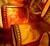 Polymer clay+napkins (klio1961) Tags: polymerclay authentic artesania arcillapolimerica art beads beautiful unique tutorial uniqueproject ultralight imadethis imadeit objects oneofakind original ooak premo pendientes lightweight kosmimata katoclay joyas jewelry handmade hechoamano handmadebeads fimo focalbeads diaxeiros decorative xeiropoiito xantres cernit vividcolors madebyme napkins hollow tubebeads bottles vessels glasses fairylights