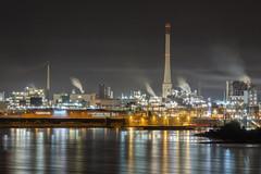 Chempark Krefeld-Uerdingen (Michael A64) Tags: chempark krefeld nacht industrie industry night rhein lichter lights uerdingen