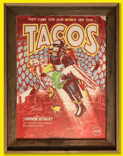 Taco framed