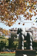 (Dibriu) Tags: parque de las esculturas santiago chile 2017 xtra fujifilm 35mm pentax k1000 outono bellas artes centro