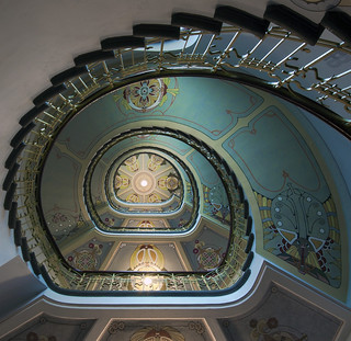 Stairway to art nouveau