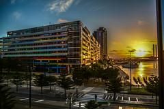 Sunset at Melbourne (sai_photosnaps) Tags: melbourne sunset sky architecture yarra river cityscape cloudy dusk