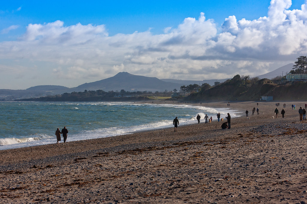 KILLINEY BEACH AND VIEWS FROM THE BEACH [THE DAY BEFORE ST. PATRICKS DAY 2008]-129546