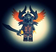 Uiáldir the Ancient Flame (slight.of.brick) Tags: demon fantasy elf underdark drow sorcerer minifig lego dungeons dragons