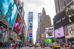 Times Square... (Daniel Jost Photography) Tags: 2017 canoneos6d dj etatsunis lightroom manhattan nyc newyork tamron2470mmf28divcusd timessquare usa photo photographe picture vacance voyage