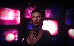 Just a careless Whisper (thestorygiver) Tags: aisling catwa empire sl scifi second life pink fuel cerberus xing post apoc maitreya spellbound