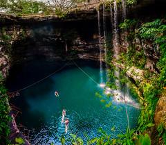 Cenote in Hacienda Selva Maya