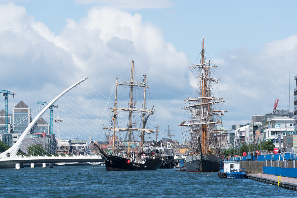 PELICAN OF LONDON [TALL SHIPS LEAVING DUBLIN PORT TUESDAY JUNE 6 2017]-129379