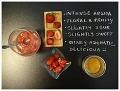 Coffee & fruits (Muse Coffee) Tags: espresso strawberries fruits coffee sensory
