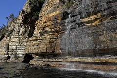 Waterfall Bay (blachswan) Tags: tasmanpeninsula tasmania tasmansea waterfallbay waterfall australia tasmannationalpark