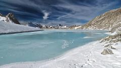 Chüebodensee (2671m) - Chüebodengletscher - Ticino / Wallis - Switzerland (Felina Photography) Tags: chüebodensee chüebodengletscher ghiacciaiodelchuëboden lago laghetto lac see meer lake ice ghiaccio eis frozen ghiacciato