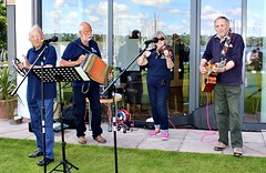 High Water Mark sea shanty band (The Nancy Blackett Trust) Tags: arthurransome swallowsandamazons nancyblackett sailing hillyard raggedrobiniii riverorwell suffolk england flotilla paradeofsail rhyc woolverstone