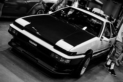 DRIVEN show (haleybrucewayne) Tags: driven marketing group vancouver show mods aftermarket cars car toyota ae86 initial d black white