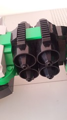 Jabba the Hutt's TIE Fighter - Quad engine (Evilkirk) Tags: starwars lego jabba hutt tie fighter moc