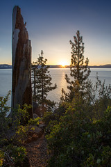 Tahoe Vista (Middle aged Nikonite) Tags: lake tahoe outdoor california sunset trees water nikon d7200 evening landscape glow backlight peaceful nature colors sky
