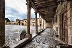 Soportales (Txantxiku) Tags: pedraza arquitectura castillayleón lugares