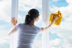 Washing windows (Bioclean Cancun) Tags: clean cleaning cleanup clear clouds dirty domestic female frame girl glass housework maid neat occupation one people person pure purity routine sky spotless sunny transparent washer washing weather window woman women work working adult