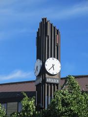 Arkaden clock tower, Södra Hamngatan, Gothenburg, Sweden (Paul McClure DC) Tags: gothenburg göteborg sweden sverige july2015 architecture historic