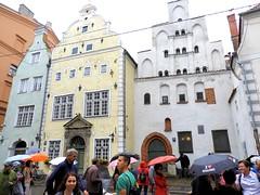 26 giu 2017 - Riga - I tre fratelli (3) (Thelonelyscout) Tags: riga lettonia latvia blackheads three brothers