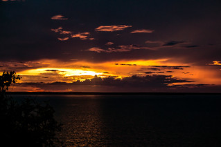 Sunset over Port Darwin