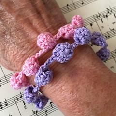 Crocheted Buddha bracelets. Yarn & free pattern from @crochetobjet #crochetlove #ilovetocrochet #crochetedbracelet #crochetjewelry #crochetersofinstagram #crochetbracelet #cottonyarn (Dar5805) Tags: crochetlove ilovetocrochet crochetedbracelet crochetjewelry crochetersofinstagram crochetbracelet cottonyarn