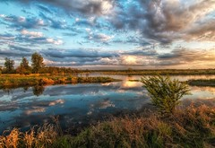 A spring flood 3 / Wiosenne rozlewiska 3 (marcin.piontek) Tags: ifttt 500px trees sky forest sunset water reflection river travel blue sun light clouds cloudscape europe tree poland beautiful orange green skyline afternoon beauty nature colourful flood marsh vegetation riverbend pilica