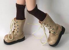 Tall Brown Socks...For Blythe...