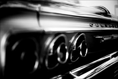 Impala SS (Mroovac) Tags: impala chevrolet vintagecar classiccar car carshow blackandwhite bw zeissmakroplanar50mmf2ze canon6d 2017